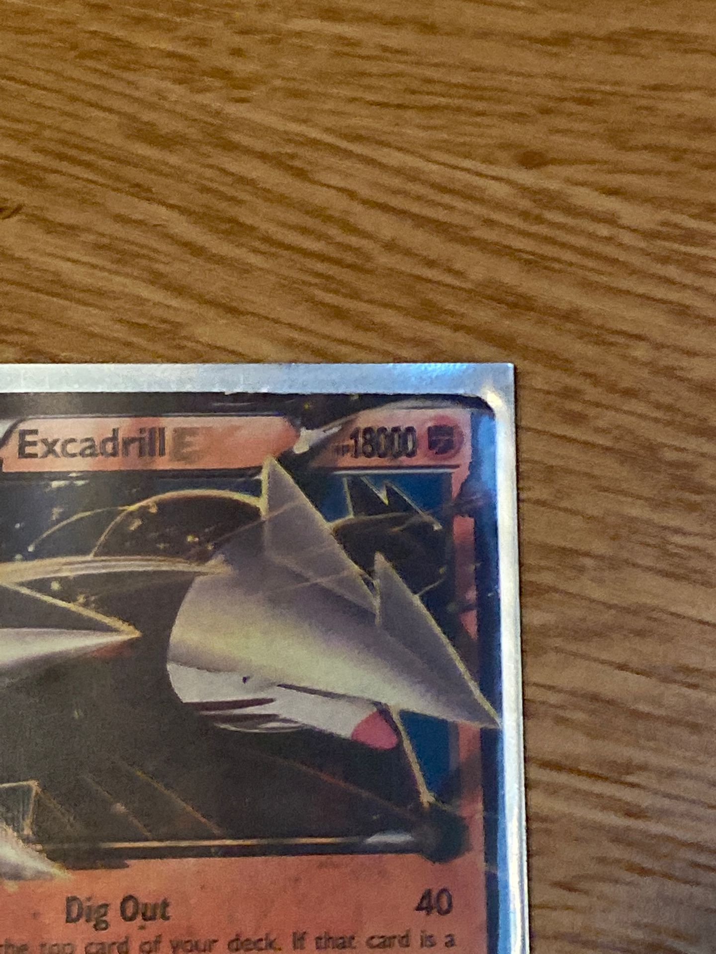 Mint condition Excadrill with 18000 health 2014 card. 100 dollars or best offer