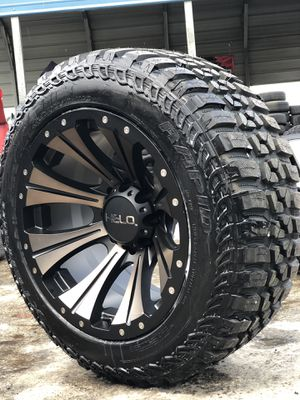 Off Road Tires For Sale >> 20x12 New Helo Off Road Rim Rims And Mud Tires 33125020 8 Lug Chevy Gmc Dodge Hummer For Sale In Modesto Ca Offerup