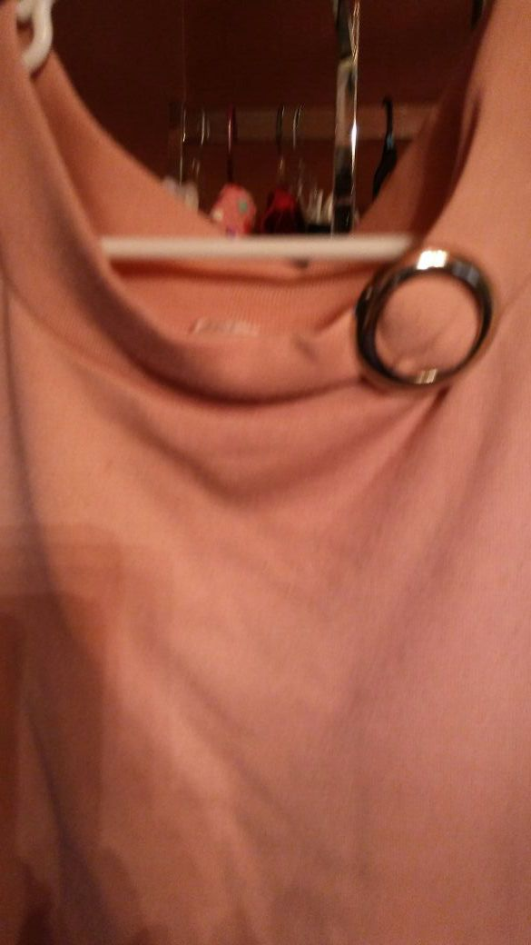 Ladies pink top size small