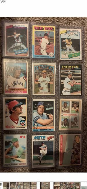 New And Used Baseball Cards For Sale In Harrisburg Il Offerup