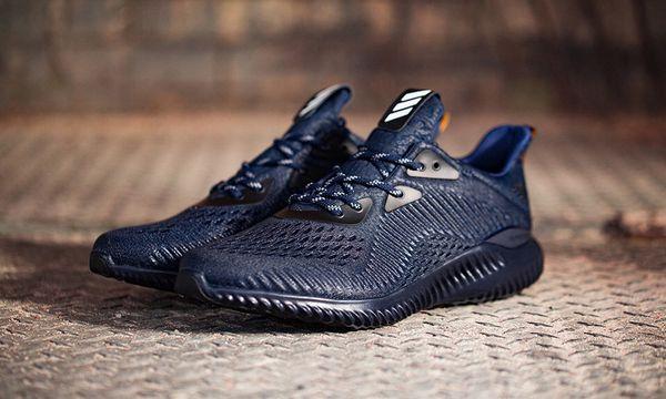 6908cf57e New Adidas Alphabounce AMS - Mens - Mystery Blue Collegiate Navy Black Size  7