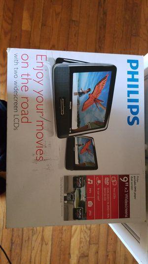 Phillips dual screen portable DVD player for Sale in Atlanta, GA