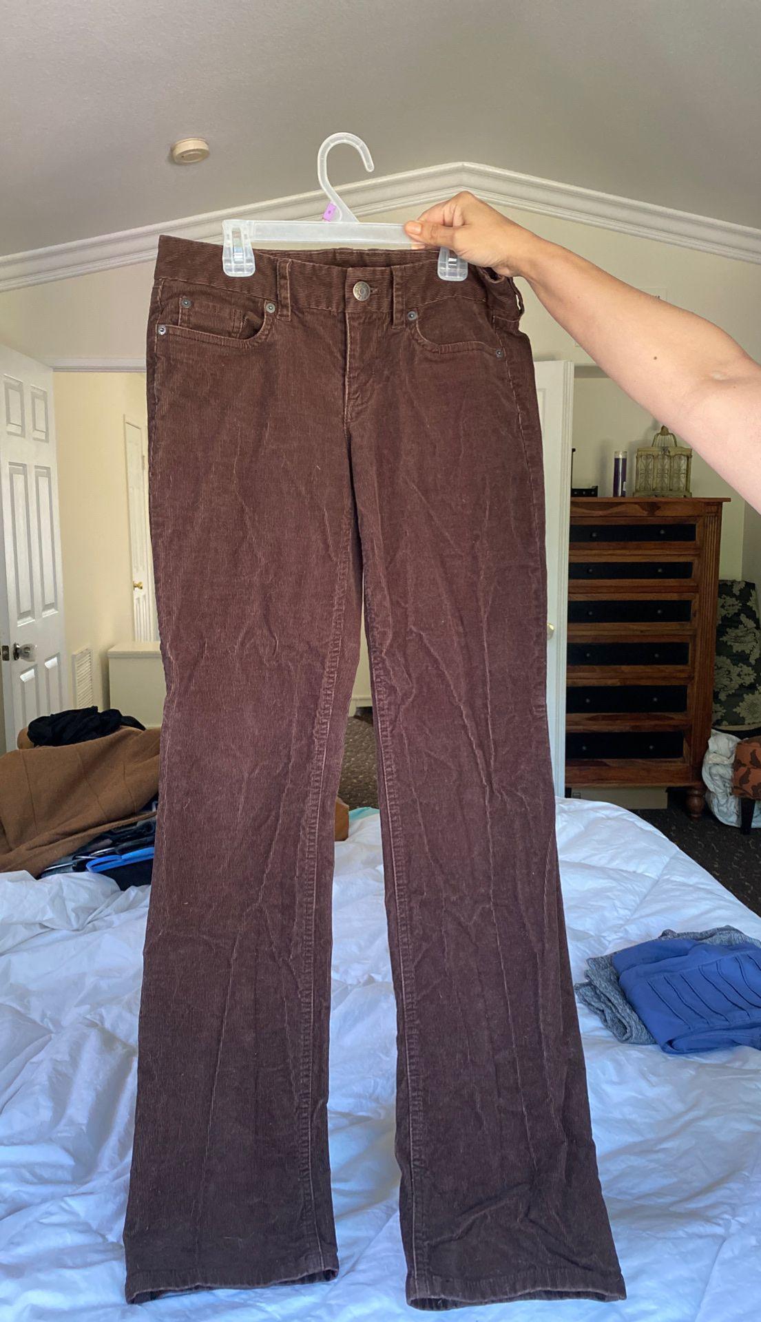 Jcrew brown corduroy pants
