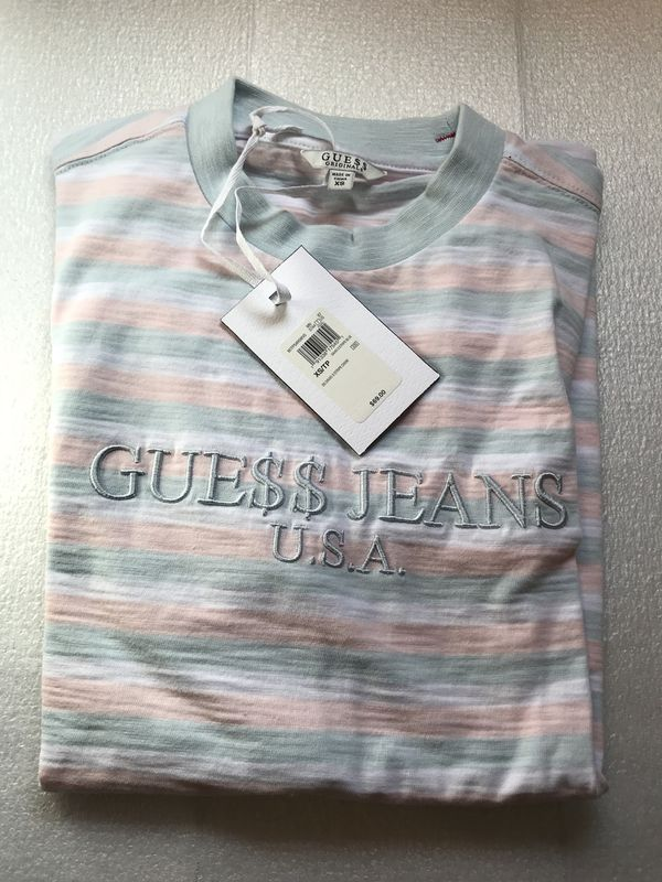 7467a6b012 Guess gue   asap rocky striped shirt vintage supreme BAPE off white  ventements Gucci. Los Angeles