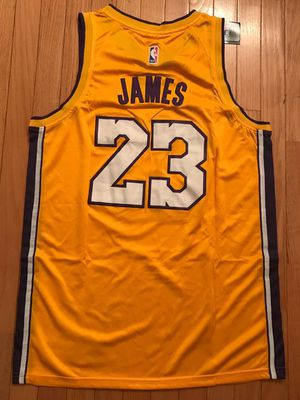 NEW Lebron James LA Lakers jersey sizes M and L for Sale in Fairfax, VA