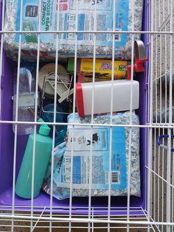 Large Rabbit/Hamster Crate By Kaytee Thumbnail
