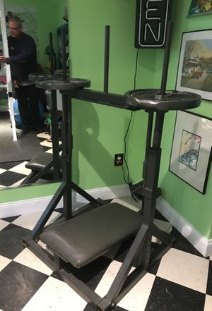 Gym Equipment inverted leg press for Sale in Damascus, MD