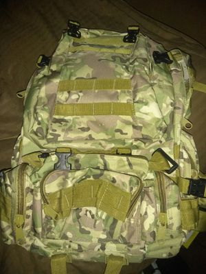 New heavy duty camo backpack for Sale in Nashville, TN
