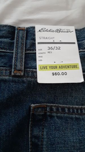 Eddie Bauer straight fit jeans for Sale in Chapel Hill, NC