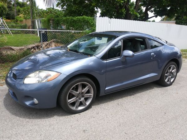 2007 mitsubishi eclipse gt.v6..91k.miles.. sunroof..power windows