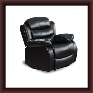 Black recliner chair free shipping for Sale in Fairfax, VA