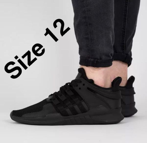 brand new adidas originaux eqt soutenir adv adv adv triple noirs 7f6afd