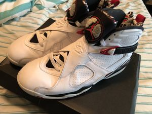 Retro Jordan 8 size 10 for Sale in Capitol Heights, MD