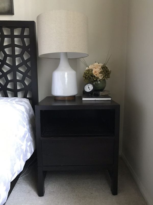 West Elm Nightstand Side Table For Sale In Los Angeles