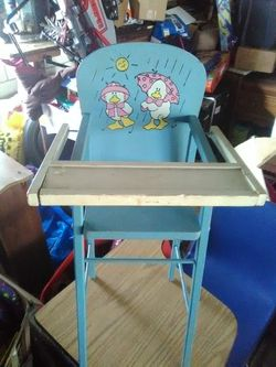 Very old doll chairs Thumbnail