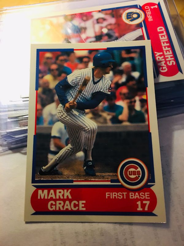 1989 Score Young Superstars I Chicago Cubs Baseball Card 3 Mark Grace Rookie Card For Sale In San Diego Ca Offerup