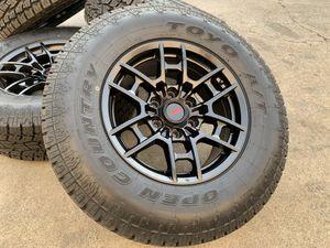 Photo 17 TRD PRO wheels Toyota Tacoma 4Runner Tundra Sequoia FJ tires rims