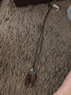 Dream Catcher necklace Thumbnail