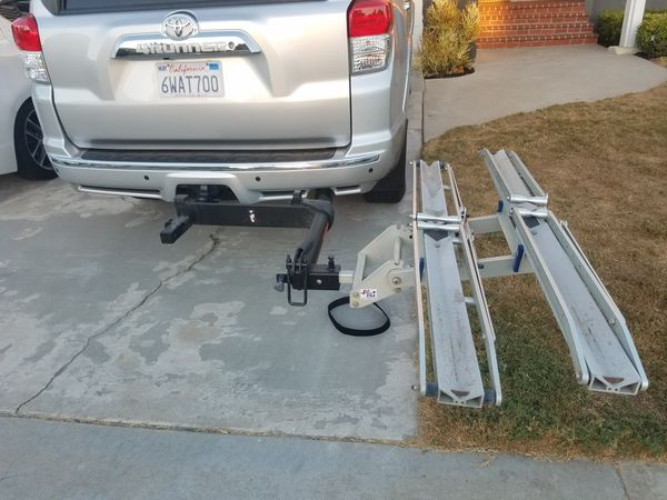 1up USA Bike Rack And Yakima Backswing