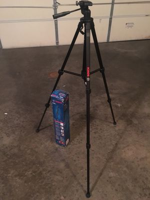 Bosch BT150 Tools Laser Level Camera Tripod Detachable Mount Base 4601D for Sale in Kensington, MD