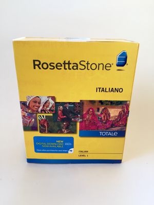 Rosetta Stone Italian Level 1 (+ digital download) for Sale in Arlington, VA