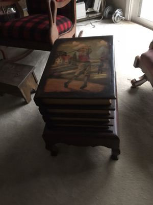 Book End Side Table For In Austin Tx