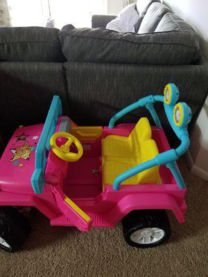 Power wheels barbie jeep for Sale in Manassas, VA