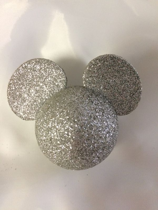 Disney Mickey Mouse Antenna Topper Disneyland Silver Souvenir dvd vhs Movie  New Years for Sale in San Ramon, CA - OfferUp