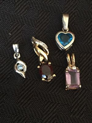 Four Tiny Pendants/Charms for Sale in Orlando, FL