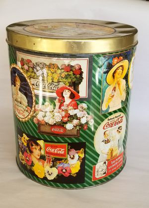 """Collectable Coca-Cola Popcorn Tin Condition - Good 11.5""""T x 10""""D Asking $15 for Sale in Las Vegas, NV"""