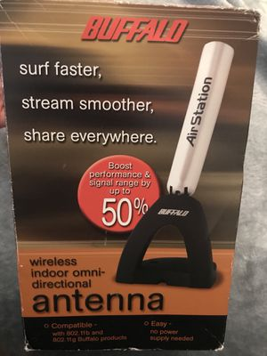 Antenna for Buffalo routers Free for Sale in Herndon, VA