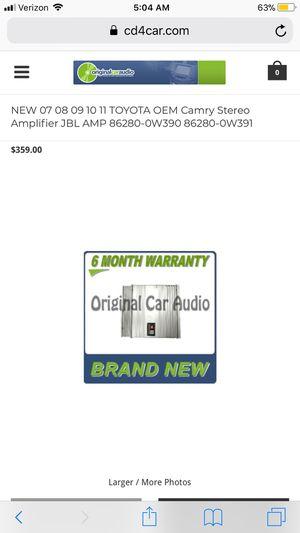 JBL Amp Model# 86280-0W390 for Sale in Roswell, GA - OfferUp