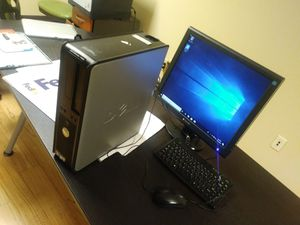 "Dell or HP Complete Desktop with 19"" inch Screen b4 7pm today for Sale in Orlando, FL"