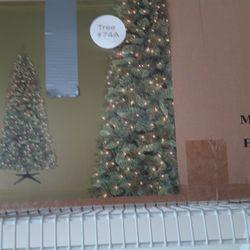 Prelit Christmas Tree  Thumbnail