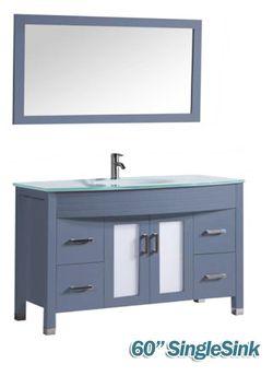 """48"""" & 60"""" bathroom vanity CORAL SPRINGS Thumbnail"""
