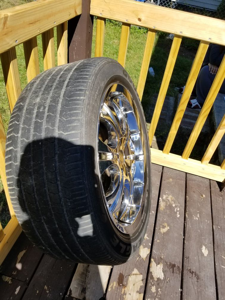 4 set universal ring with tires