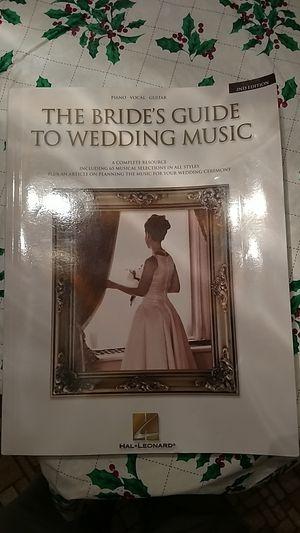 Wedding music book for Sale in Appomattox, VA