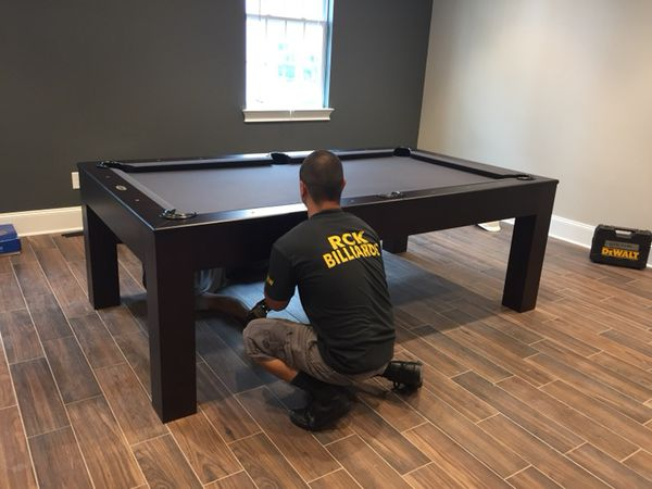 POOL TABLE MOVING AND REFELTING SERVICES for Sale in ...