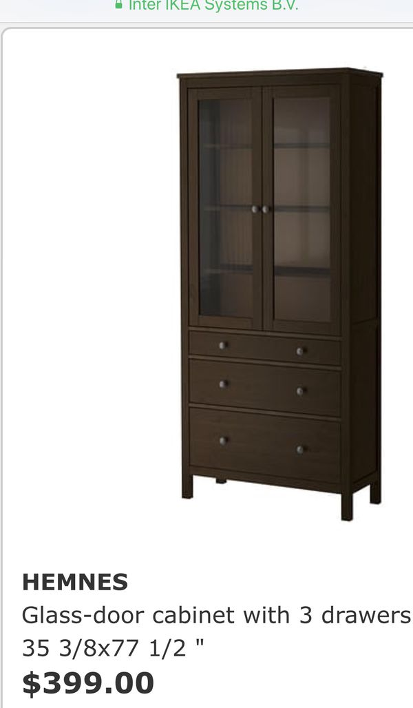 Ikea Hutch China Cabinet Drawer Dresser For In Los Angeles Ca Offerup