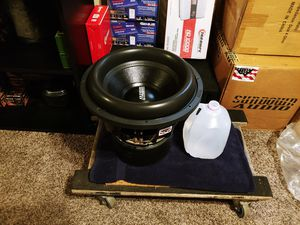Photo 15 Sundown Audio Zv5 15 2000w rms Subwoofer