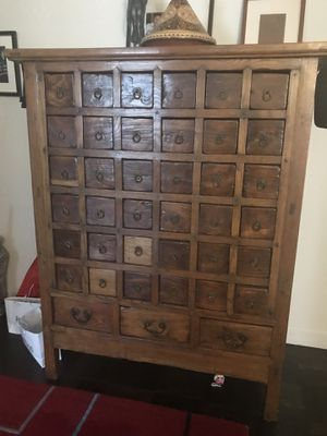 classic fit dd73c 5331a Antique Chinese apothecary cabinet for Sale in New York, NY - OfferUp