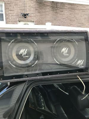 MA Audio Car Audio System (Amp Included) for Sale in Queens, NY