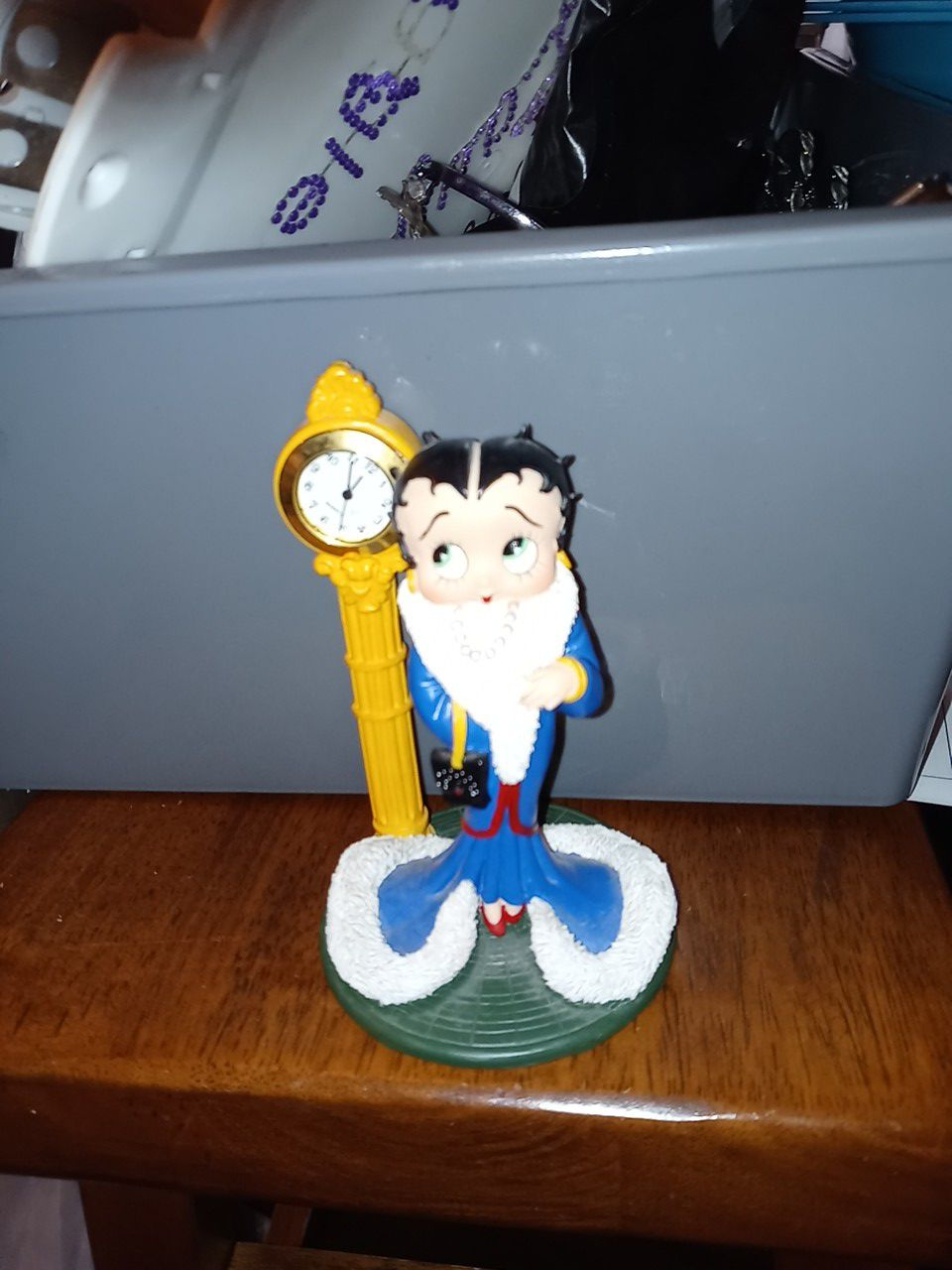 Betty Boop collection statue