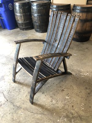 Whiskey barrel chair for Sale in Aspen Hill, MD