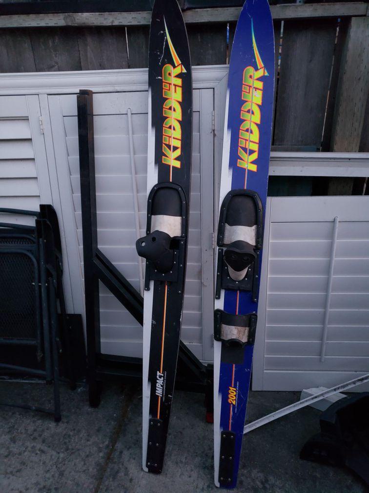 Knee Board & Water Skis