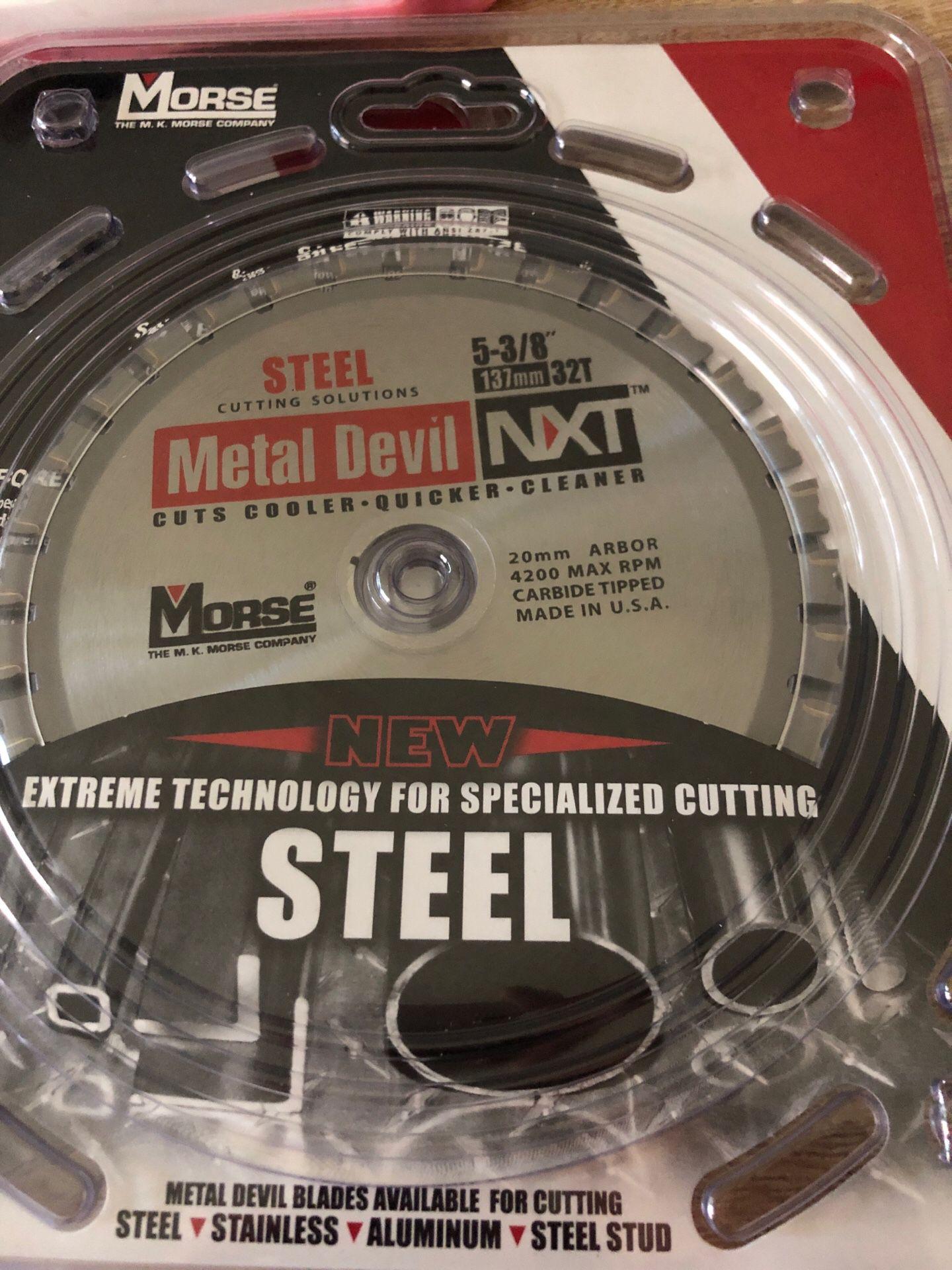 Morse Steel Cutting Blade