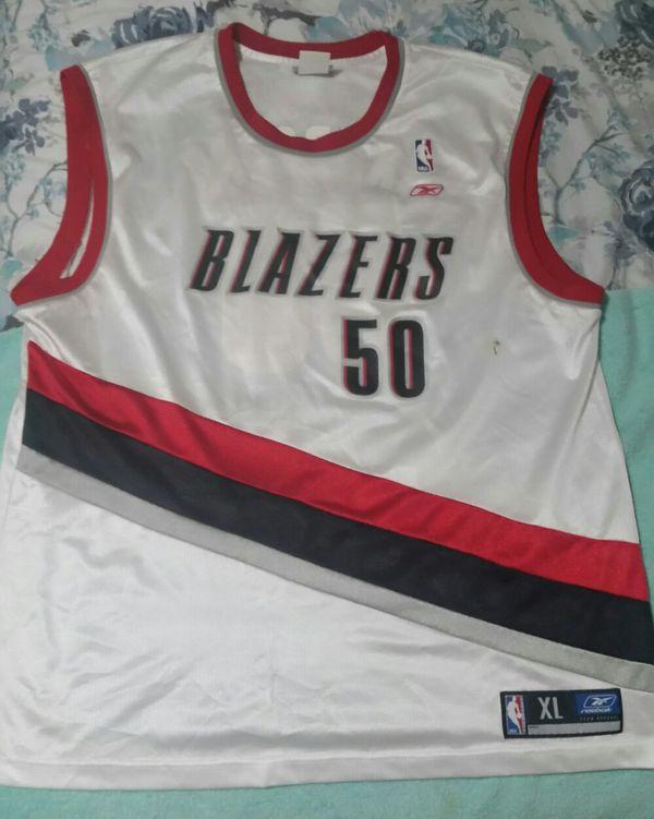 buy online 68f4b 82342 NBA Portland Trail Blazers RBK Jersey Zach Randolph #50 XL for Sale in  Salem, OR - OfferUp