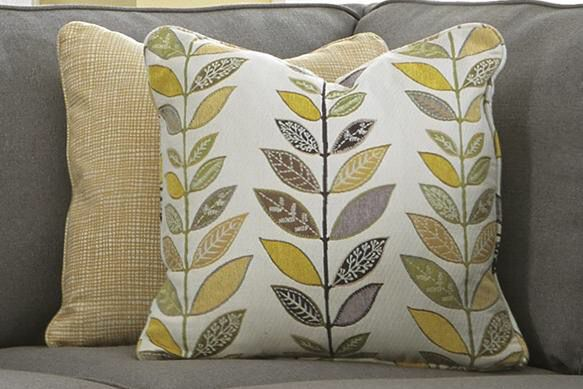 2 Ashley Furniture Accent Pillows
