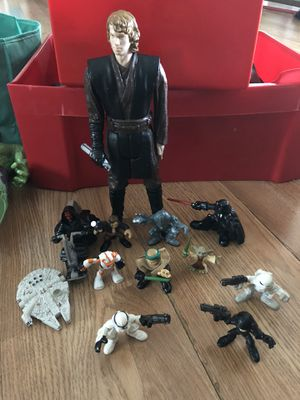 Star wars action figure lot for Sale in Orlando, FL
