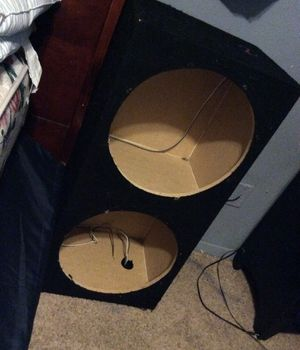 Photo 15 inch subwoofer box